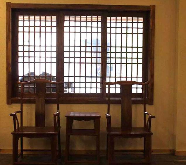 新中式餐厅样板