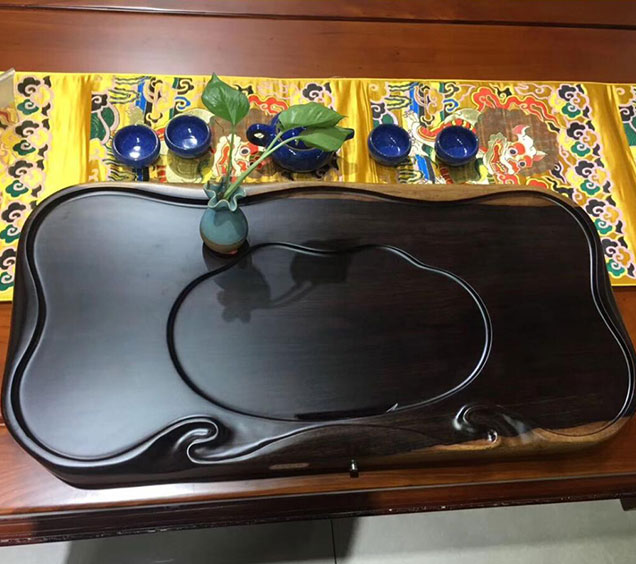 黑檀木茶盘