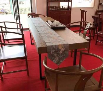 红木大板台