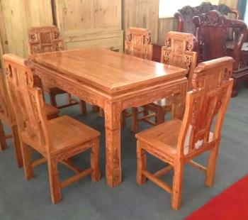 长方形餐桌